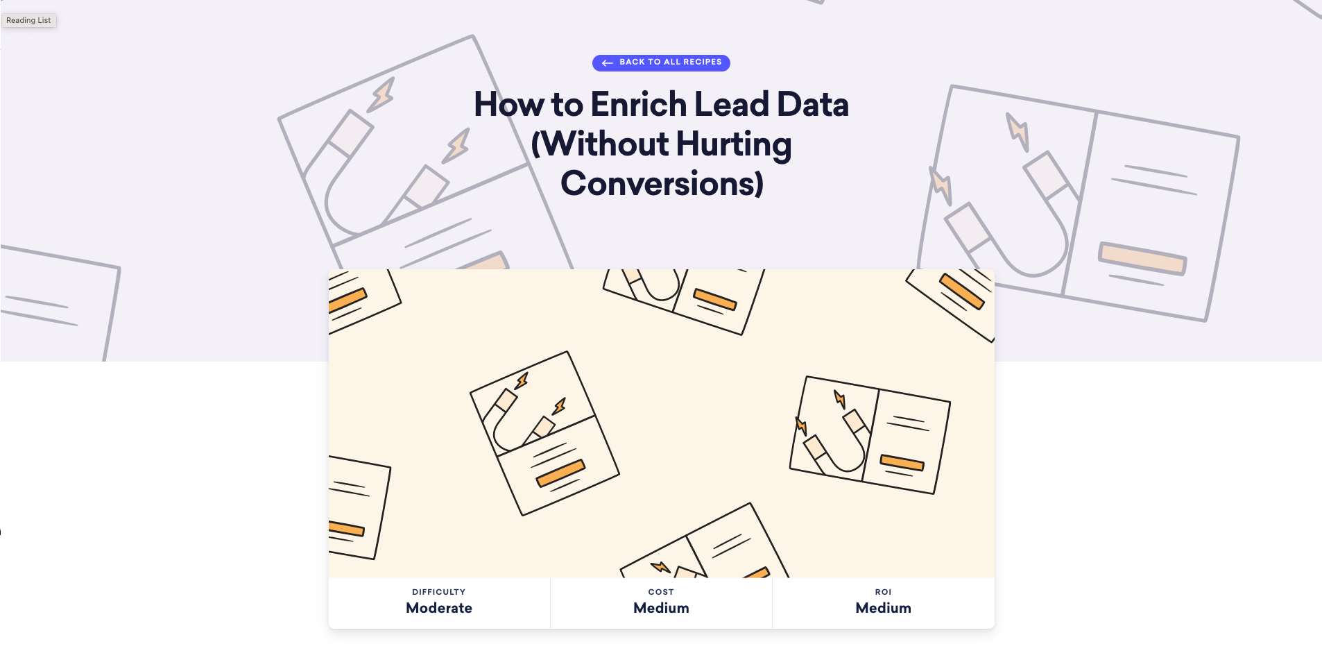 How to Enrich Lead Data (Without Hurting Conversions)