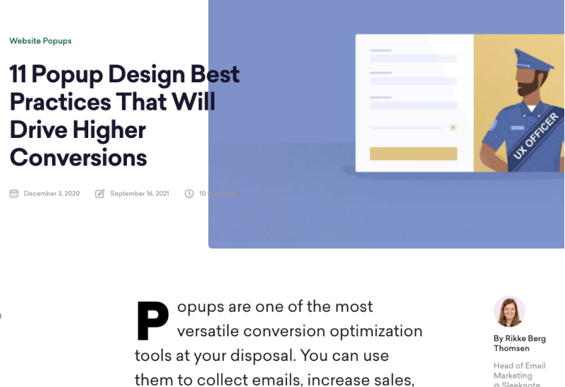 11 Popup Design Best Practices That Will Drive Higher Conversions